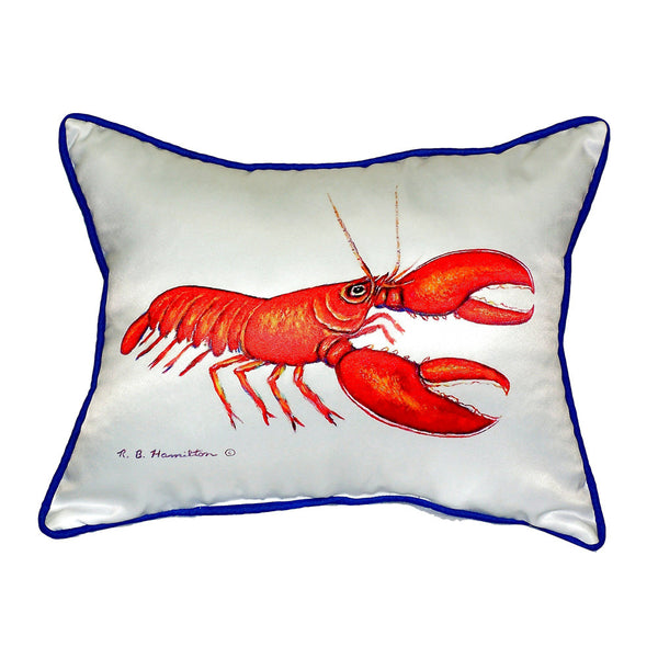 Red Lobster Large Indoor or Outdoor Pillow