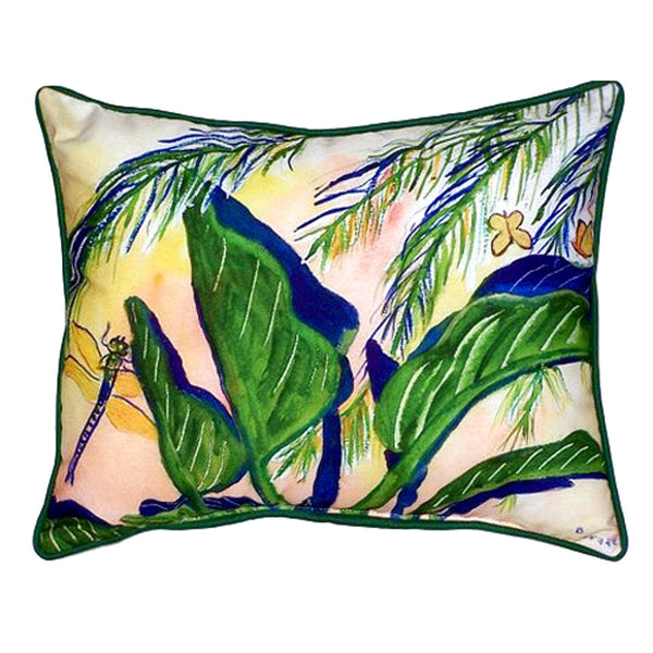 Elephant Ears Large Indoor or Outdoor Pillow 16x20