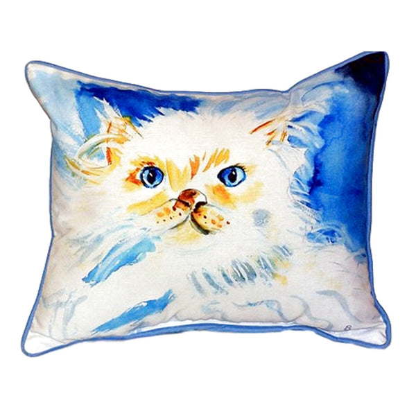 Junior the Cat Large Indoor or Outdoor Pillow