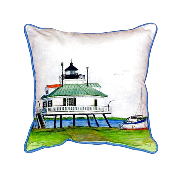Hopper Strait Lighthouse Large Indoor or Outdoor Pillow 15x22