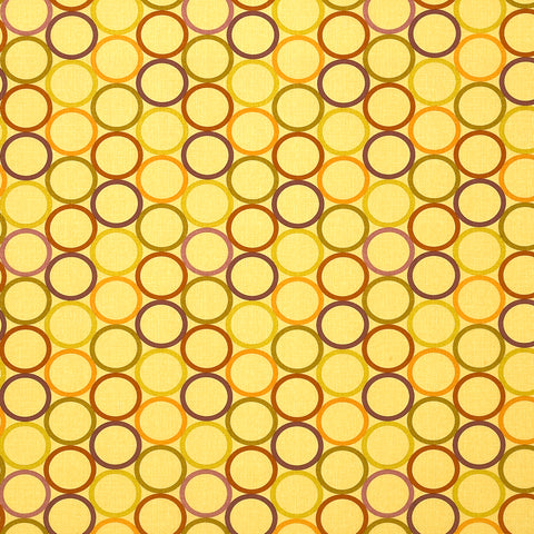Halo Seville  Curvilinear Woven Flat Upholstery Fabric