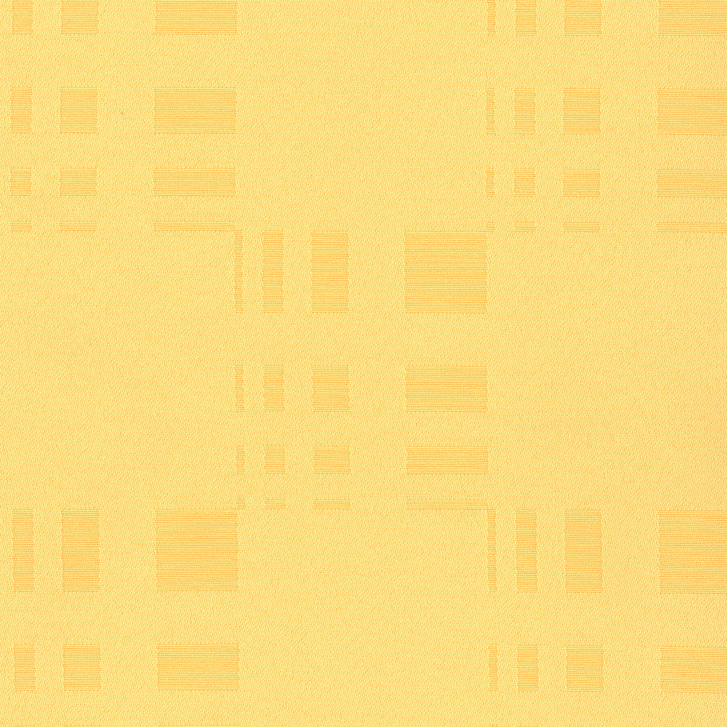 High Rise Cornsilk Yellow Abstract Woven Flat Upholstery Fabric