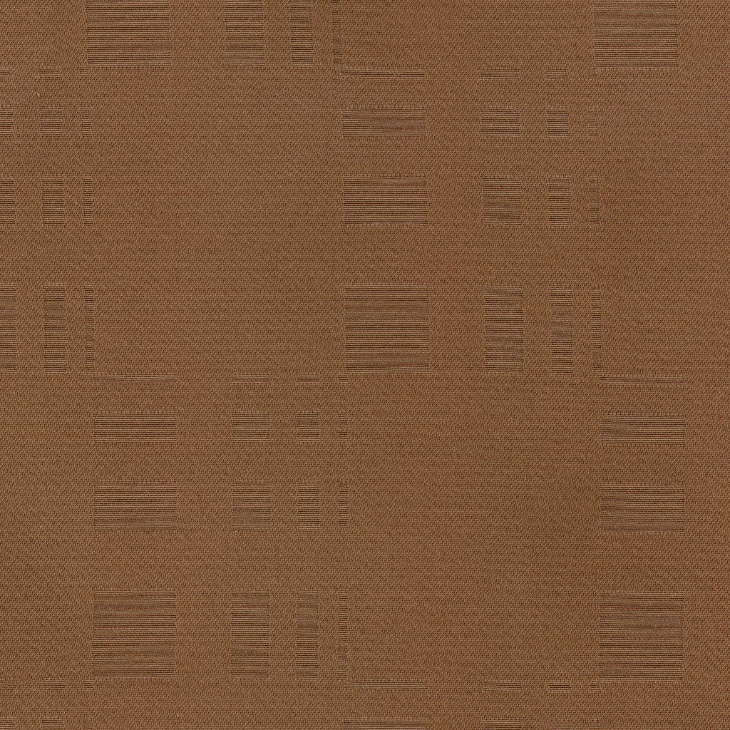 High Rise Mocha Brown Chocolate Abstract Woven Flat Upholstery Fabric