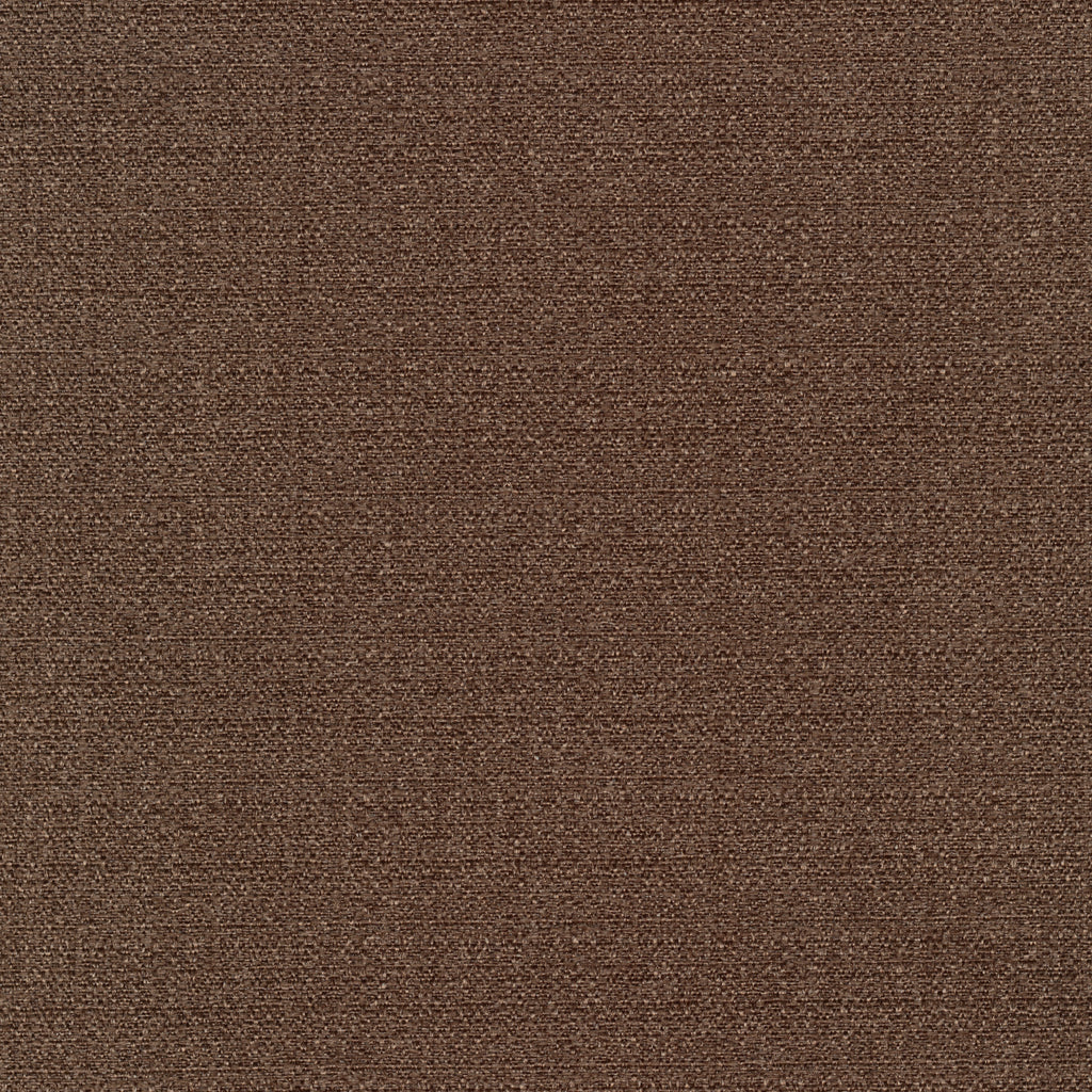 Highland Park Oak Brown Chocolate Solid Woven Textured Upholstery Fabric