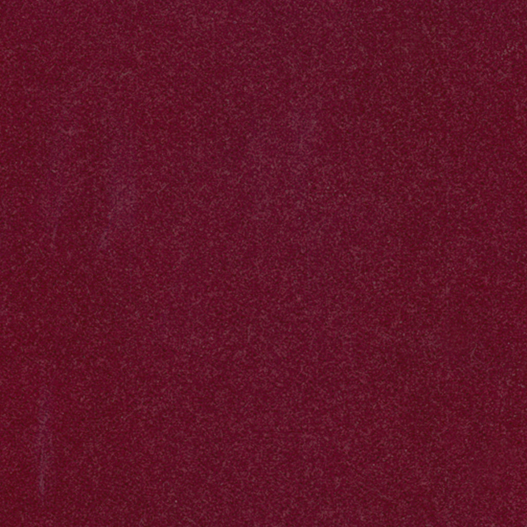 Imposteur Currant Red Burgundy Solid Woven Pile Upholstery Fabric