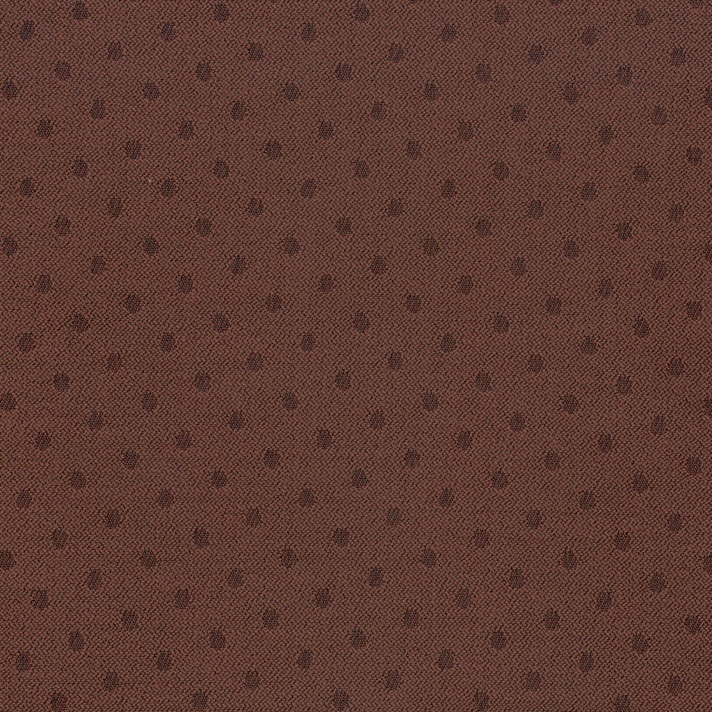 Index Brunette Brown Curvilinear Woven Flat Upholstery Fabric
