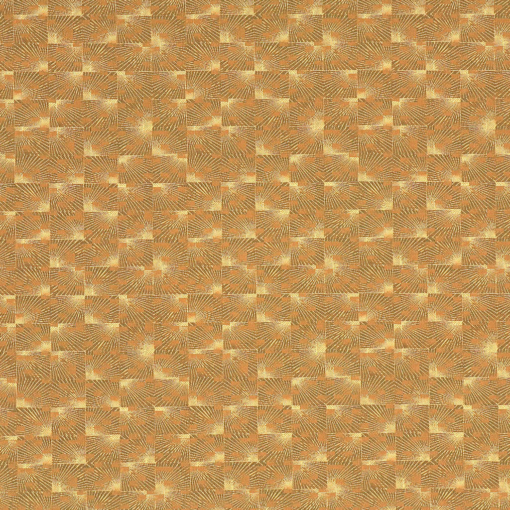 Jaffray Brass Brown Brown Tan Beige Geometric Woven Flat Upholstery Fabric