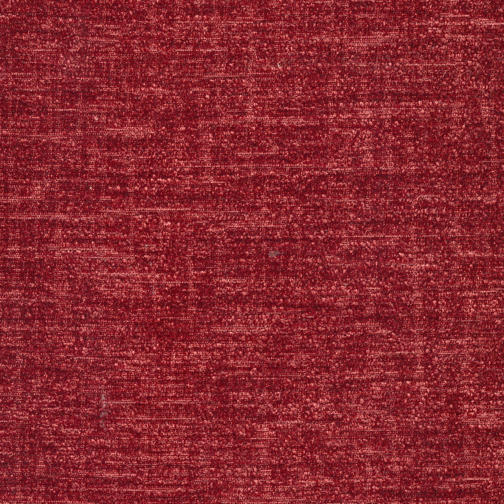 Juliet Paramour Red True Red Muted Textured Woven Textured Upholstery Fabric