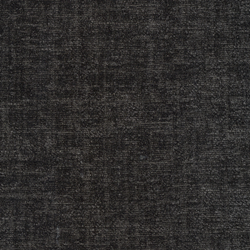 Juliet Romeo Gray Black Ebony Muted Textured Woven Textured Upholstery Fabric