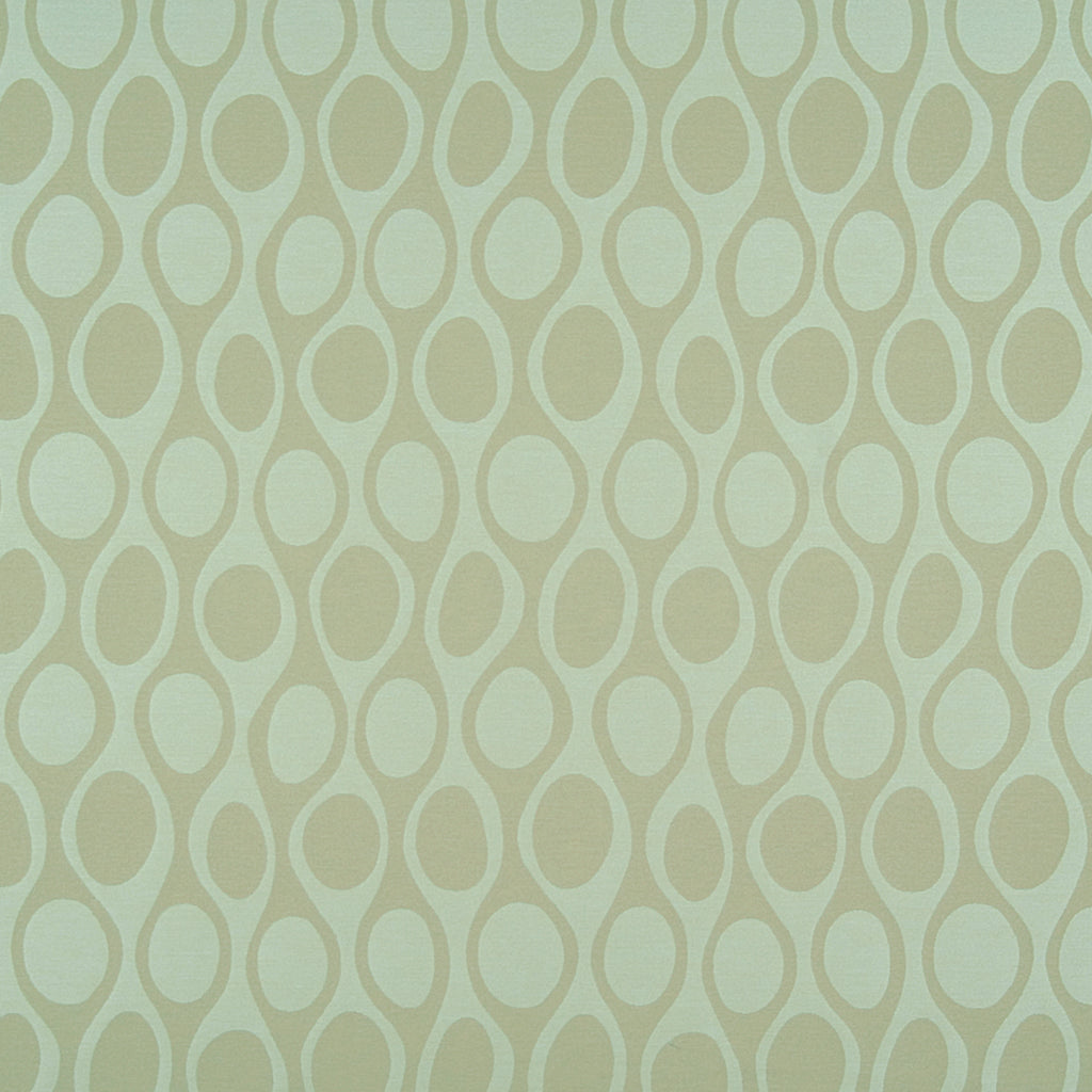 Kenga Pool Green Yellow Mint Seafoam Gold Curvilinear Woven Fl Upholstery Fabric