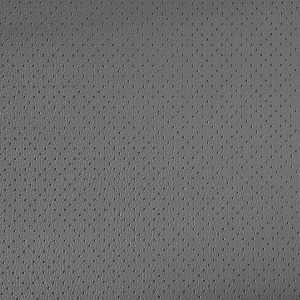 Torino Diamond Gray Leather Grain Plain Solid Vinyl Upholstery Fabric