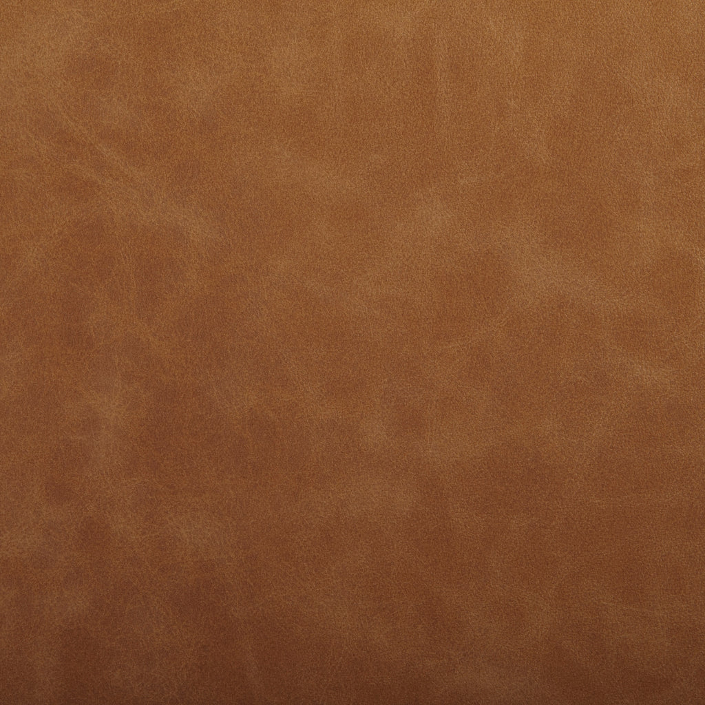 Lasso Brown Leather Grain Plain Solid Polyurethane Vinyl Upholstery Fabric