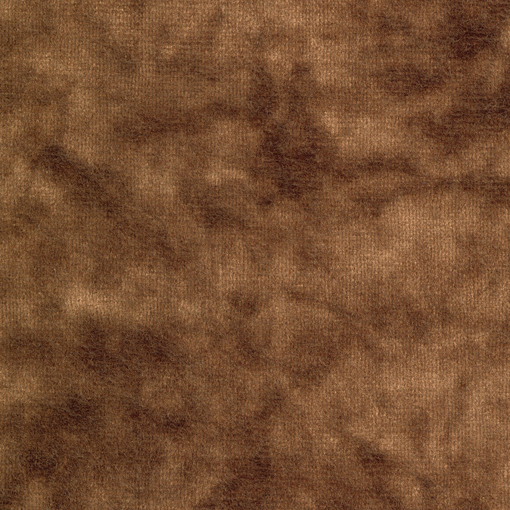 Middleton Duke Brown Solid Woven Pile Upholstery Fabric