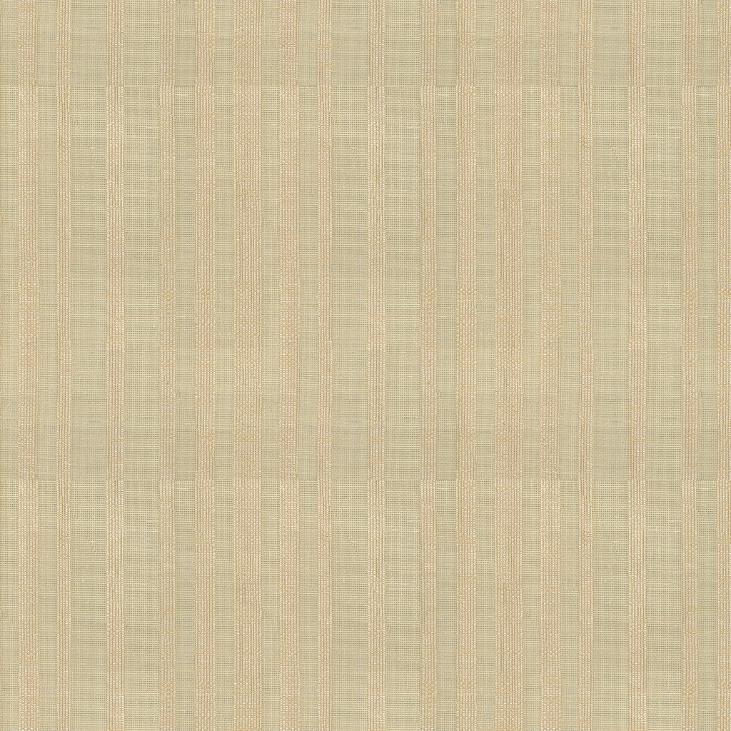 Naturale Wheat Brown Tan Beige Stripe Woven Flat Upholstery Fabric