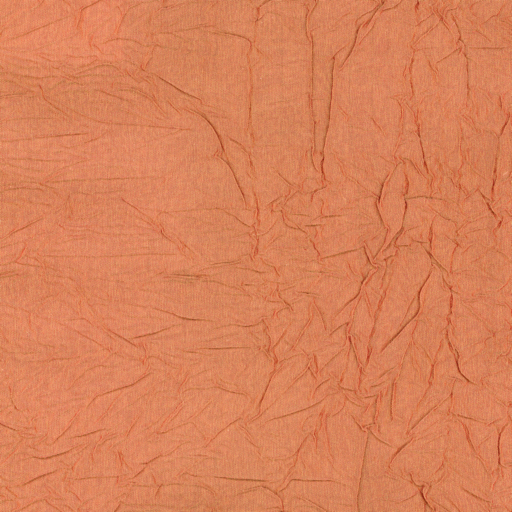 Pinch Me Sun Orange Solid Woven Crepe Upholstery Fabric