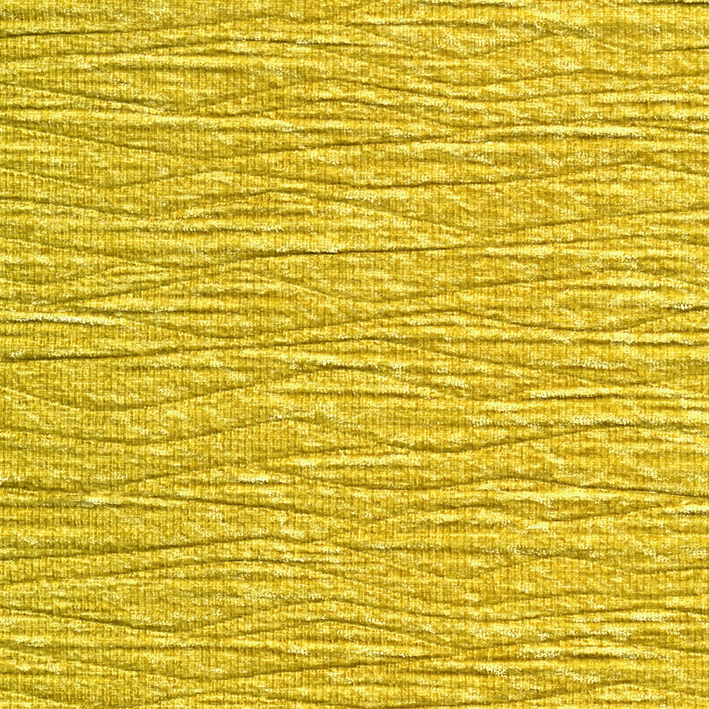 Pleated Skirt Yellow Gold Solid Woven Textured Upholstery Fabric