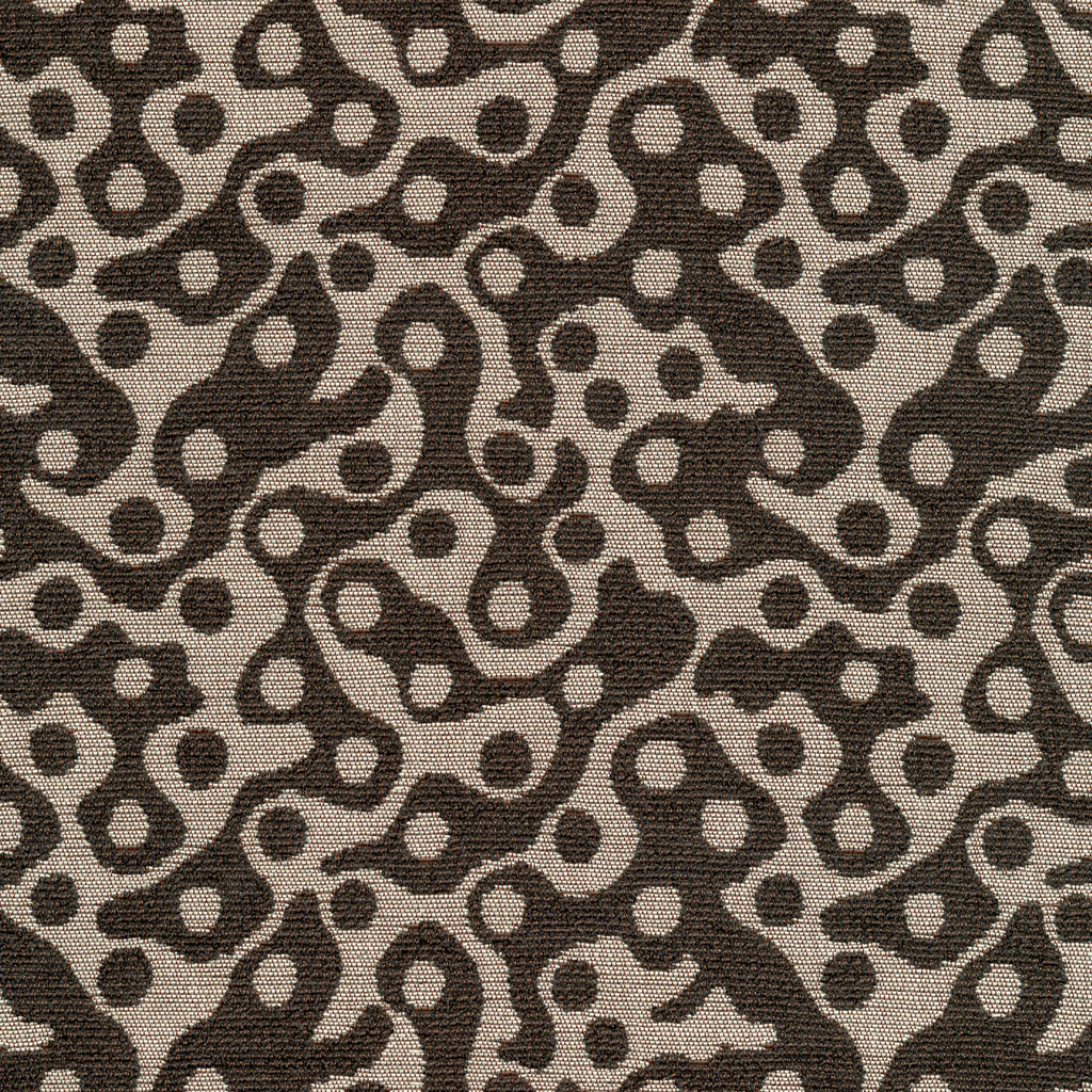 Pop Culture Idol Gray White Silver Curvilinear Woven Flat Upholstery Fabric