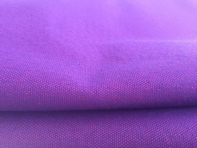 Mermaid Purple Pink Solid Outdoor Woven Upholstery Fabric