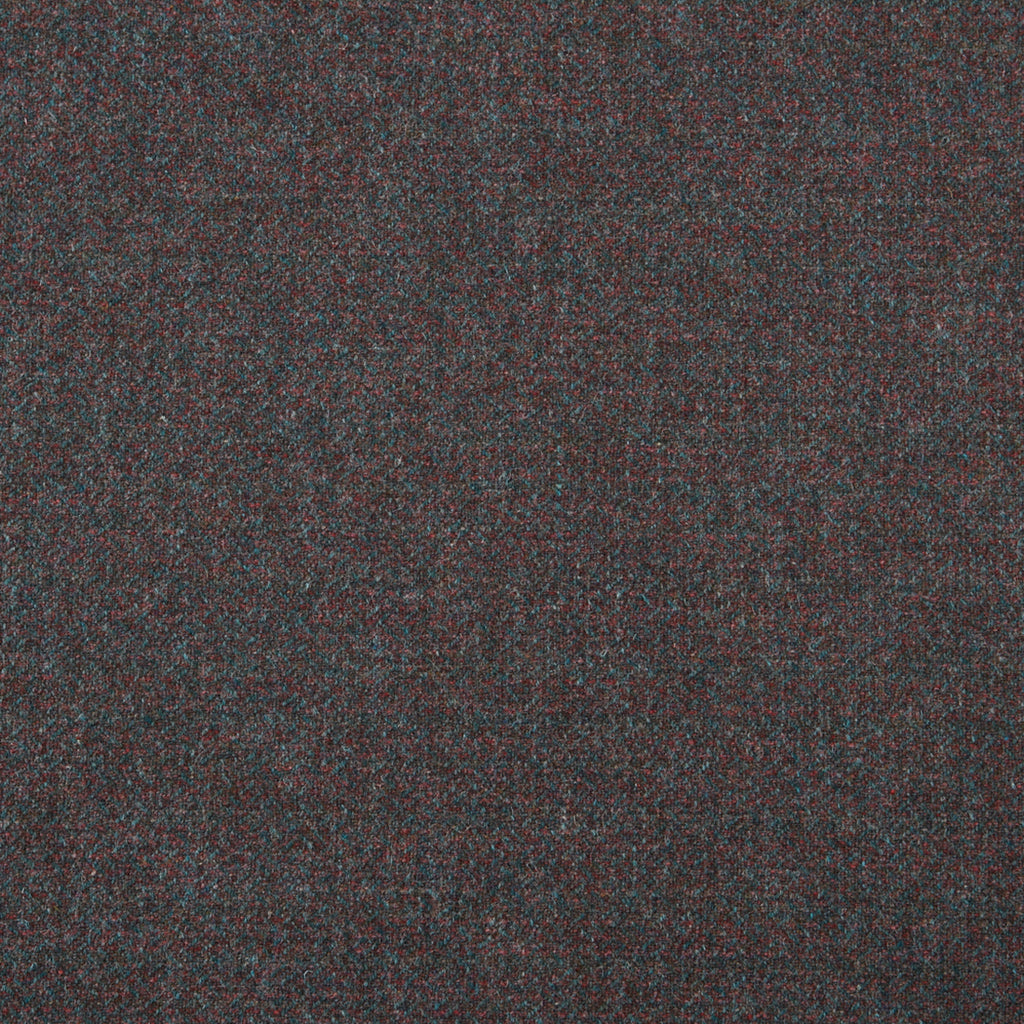 Holly Wool Gray Red Solid Woven Wool Upholstery Fabric