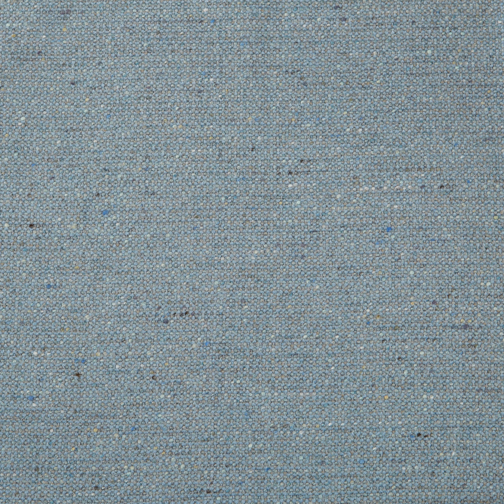 Aquamarine Wool Blue Aqua Teal Solid Woven Wool Upholstery Fabric