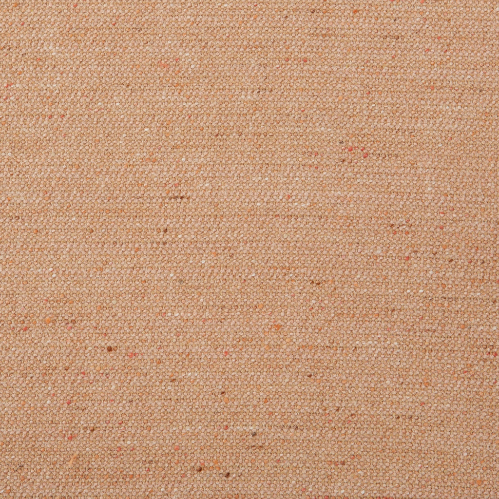 Peach Wool Orange Solid Woven Wool Upholstery Fabric