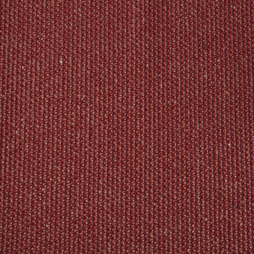 Garnet Wool Red Solid Woven Wool Upholstery Fabric