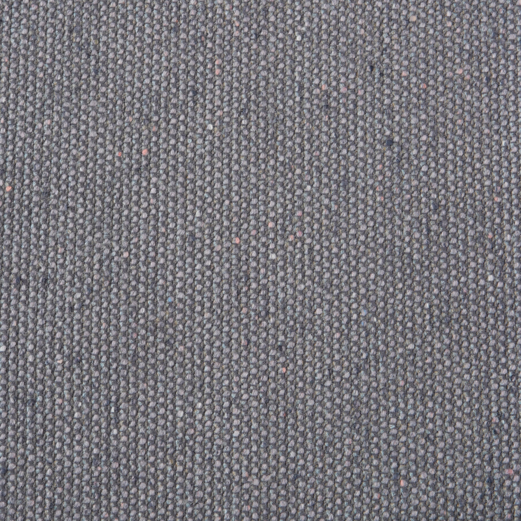 Grey Wool Gray Solid Woven Wool Upholstery Fabric