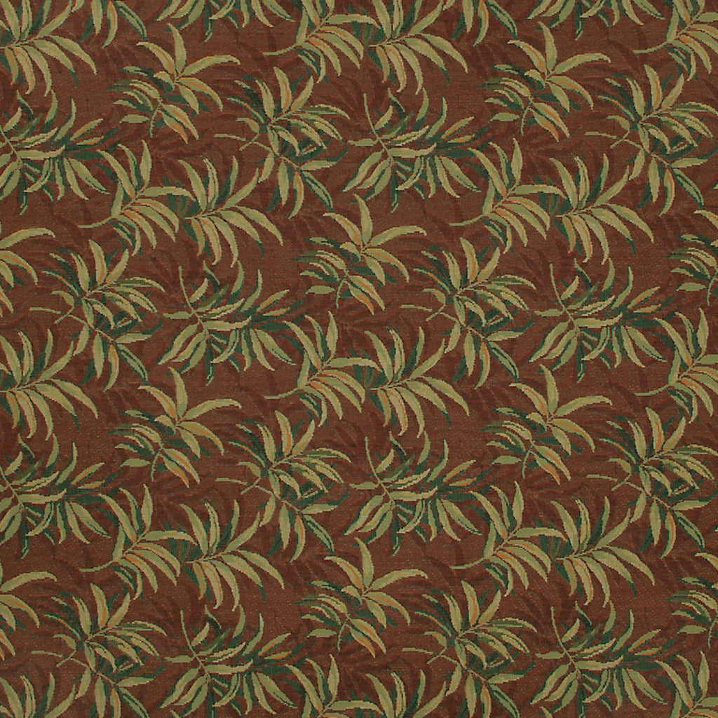 Reminiscence Burnt Orange Orange Green Orange Rust Hunter fore Upholstery Fabric
