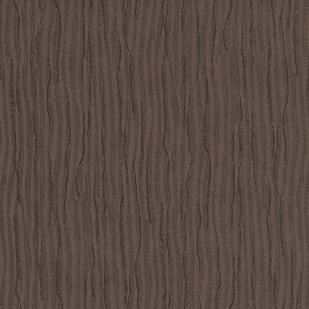 Roman Pleated Brown Chocolate Geometric Vinyl Upholstery Fabric