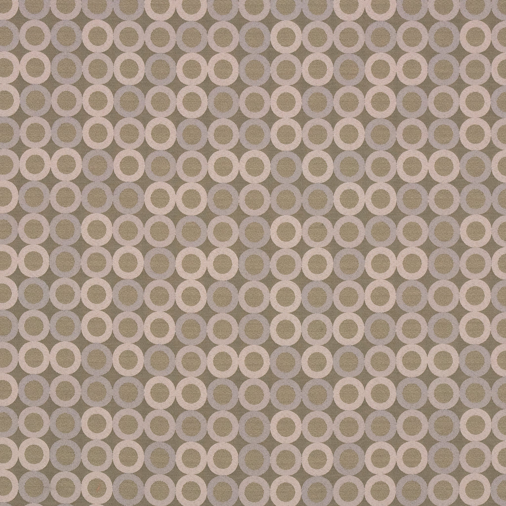 Roundabout Carriage Gray Brown Gray Charcoal Curvilinear Woven Upholstery Fabric