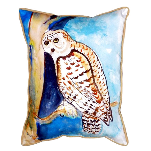 Owl Small Indoor or Outdoor Pillow 12x12