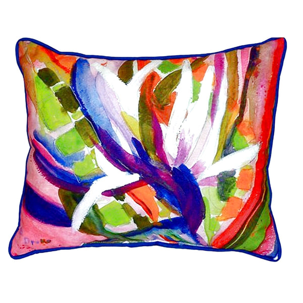 Bird of Paradise Small Indoor or Outdoor Pillow 11x14