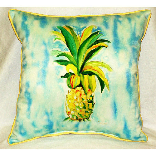 Pineapple Small Outdoor or Indoor Pillow 12x12