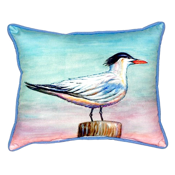 Royal Tern Small Outdoor or Indoor Pillow 11x14