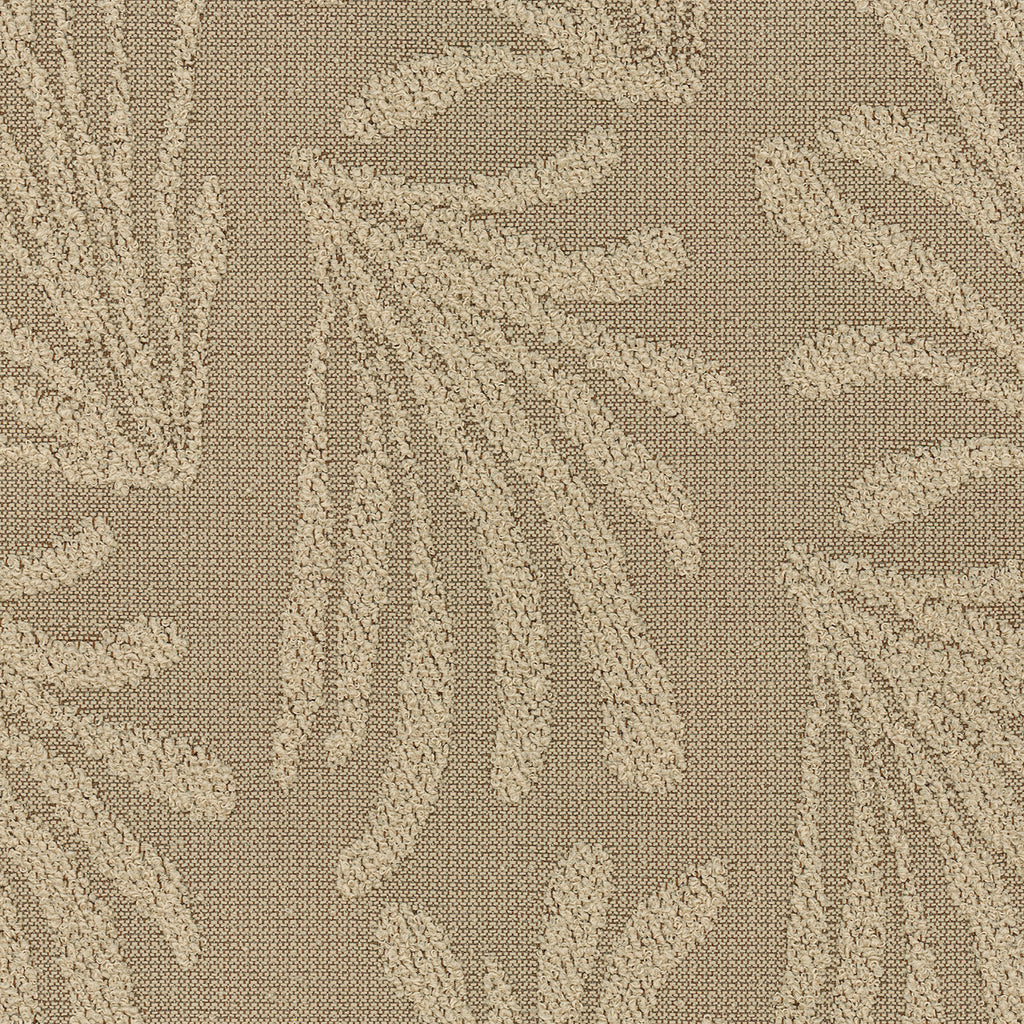 Scotia Field Brown Brown Tan Beige Tan Beige Leaves Floral Wov Upholstery Fabric