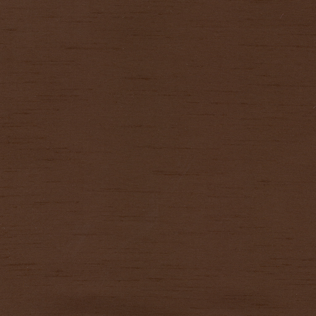 St Pierre Chocolate Brown Chocolate Solid Woven Flat Upholstery Fabric