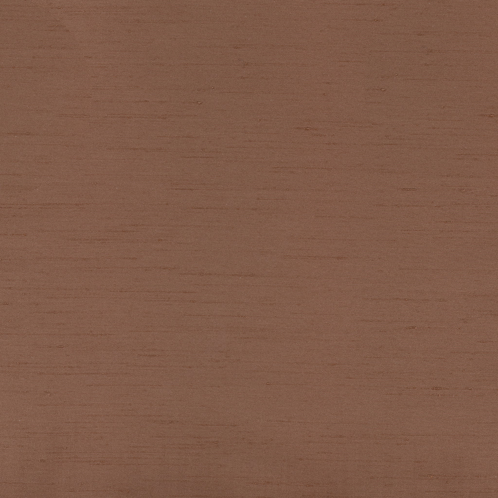 St Pierre Truffle Brown Solid Woven Flat Upholstery Fabric