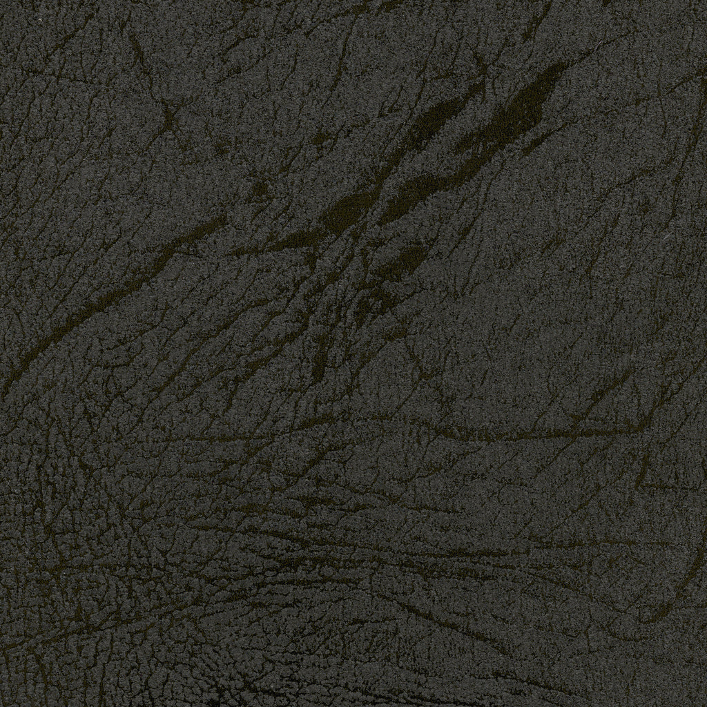 Stampede Black Jack Gray Black Ebony Solid Faux Suede Upholstery Fabric