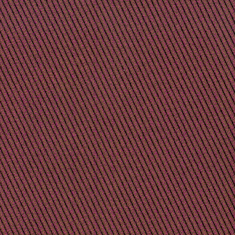 Stanley Magenta Purple Gray Mauve true Purple Black Ebony Stri Upholstery Fabric