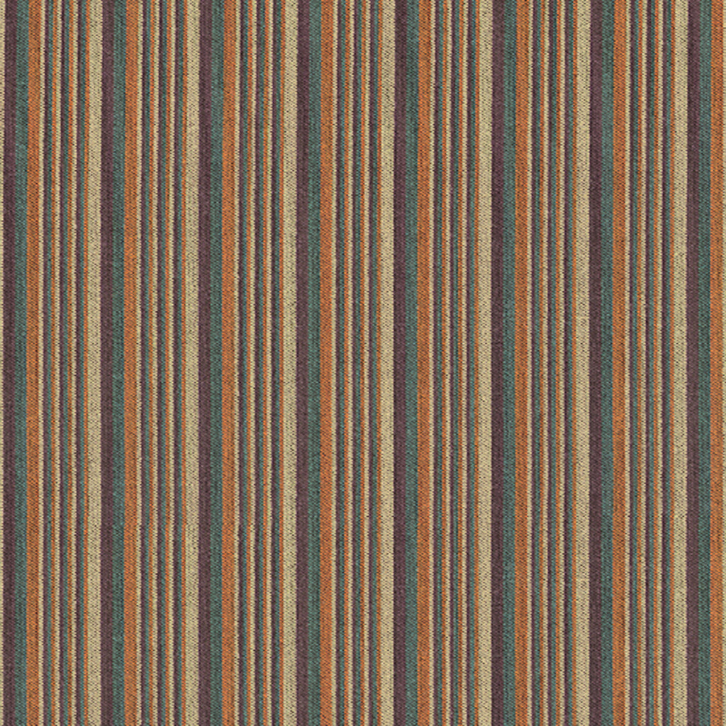 Streamline Lawn Chair Orange Yellow Pastel Stripe Woven Flat Upholstery Fabric