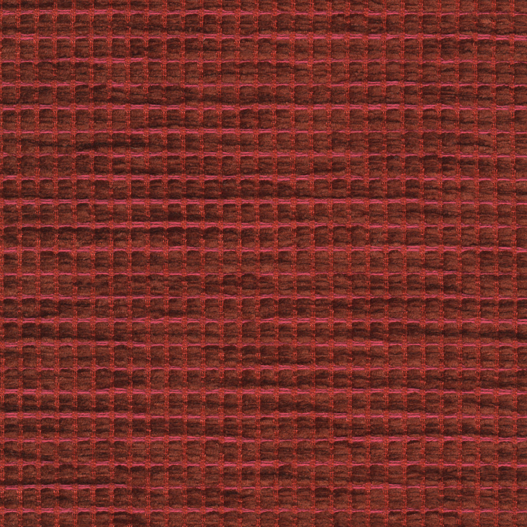 Tickle Pixie Red Red Burgundy Pastel Pink Muted Textured Woven Upholstery Fabric