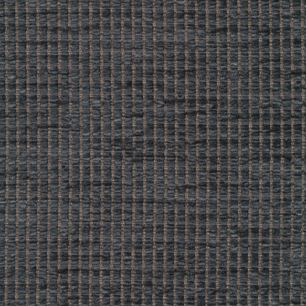 Tickle Sterling Gray Gray Charcoal Muted Textured Woven Textur Upholstery Fabric