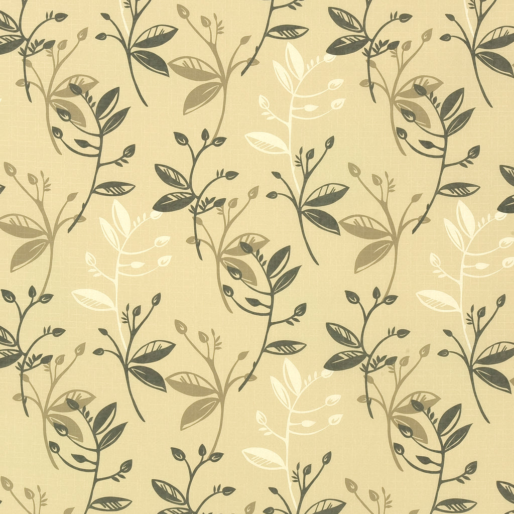 Willow Mousse Brown Brown Tan Beige Tan Beige Leaves Floral Wo Upholstery Fabric