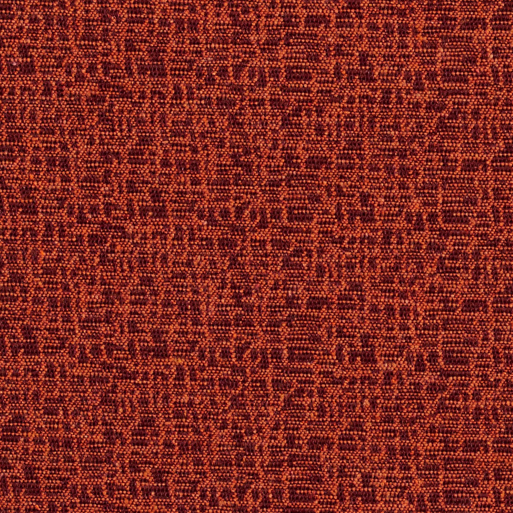 Coral Abstract Mesh Art Damask Upholstery Fabric