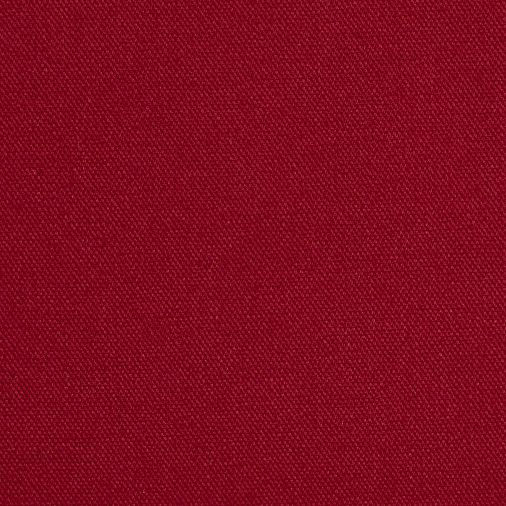 Solid Burgundy Print Indoor Outdoor 100% Cotton Upholstery Fabric