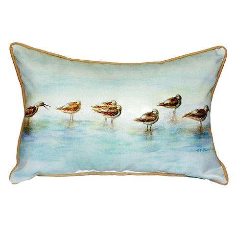 Avocets Extra Large Zippered Indoor or Outdoor Pillow 20x24