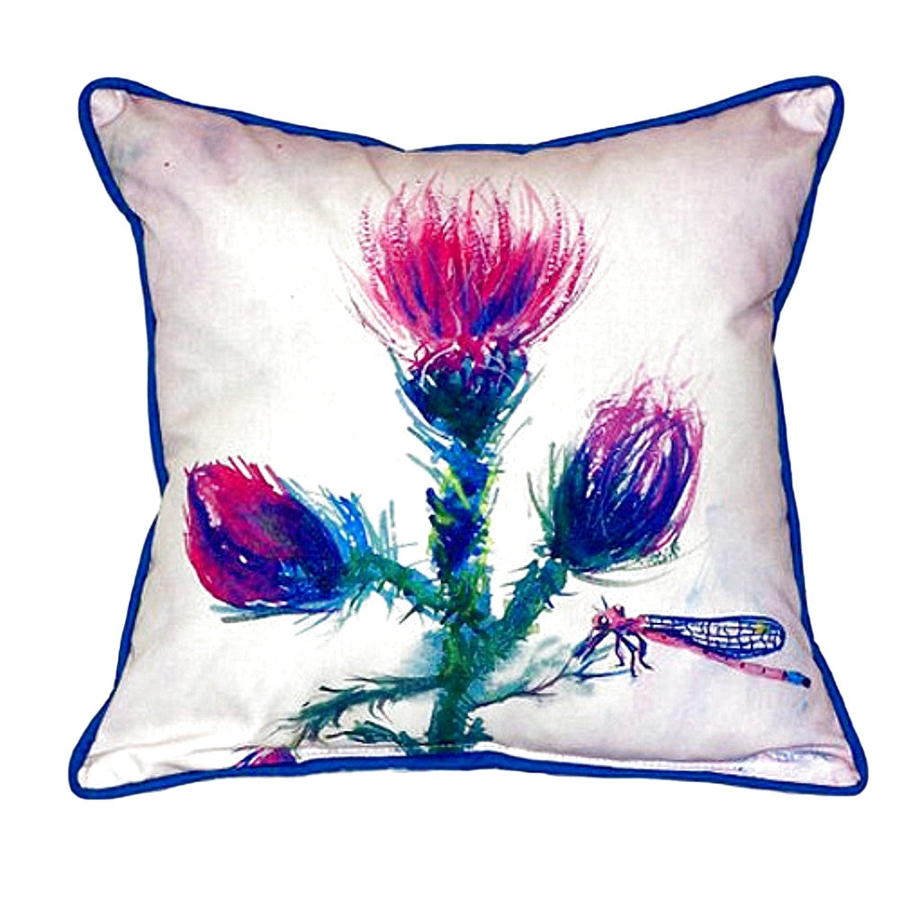 Thistle Extra Large Zippered Indoor or Outdoor Pillow