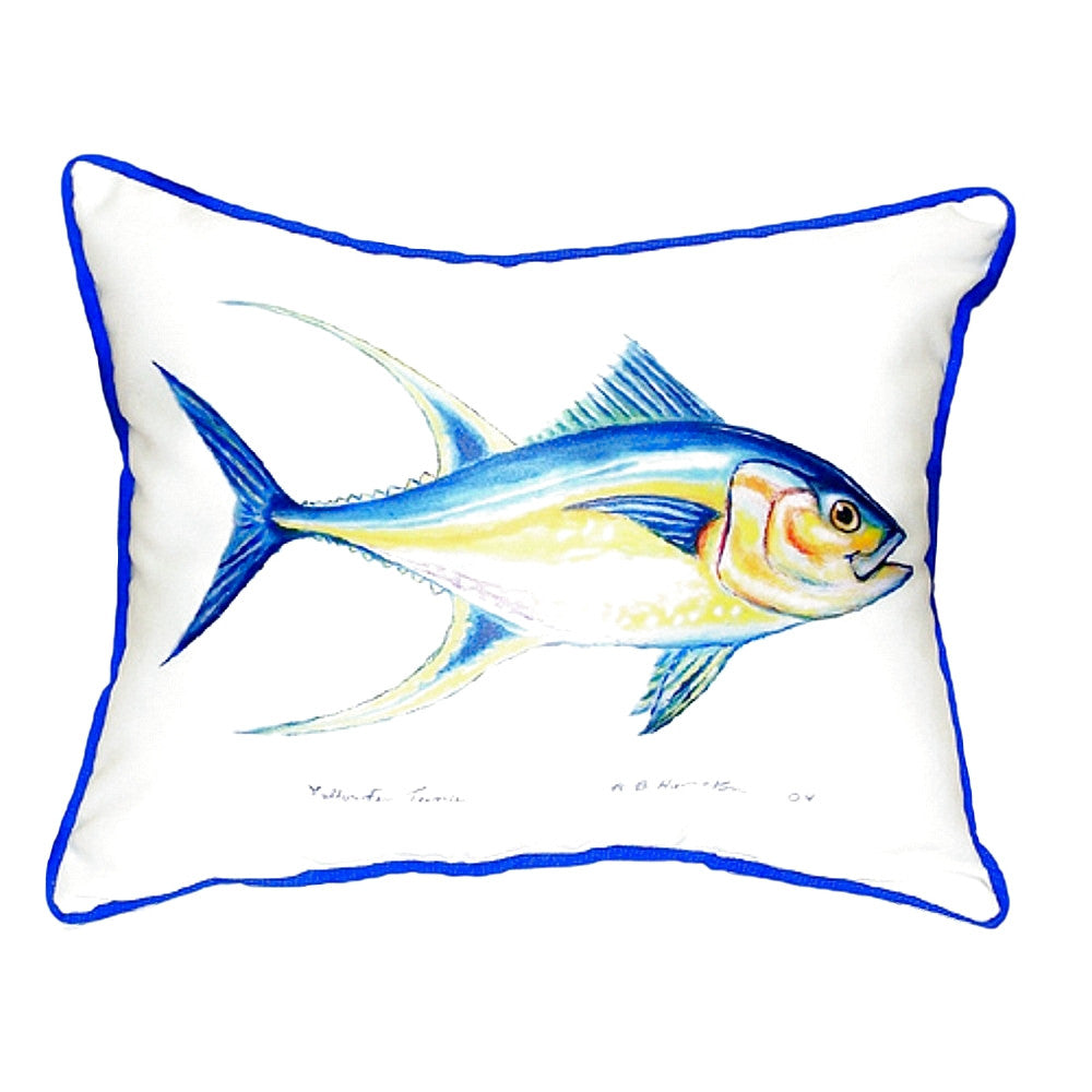 Tuna Extra Large Zippered Indoor or Outdoor Pillow 20x24