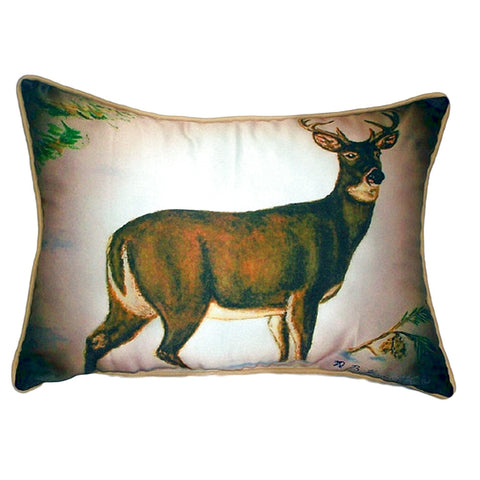Buck Extra Large Zippered Indoor or Outdoor Pillow 20x24