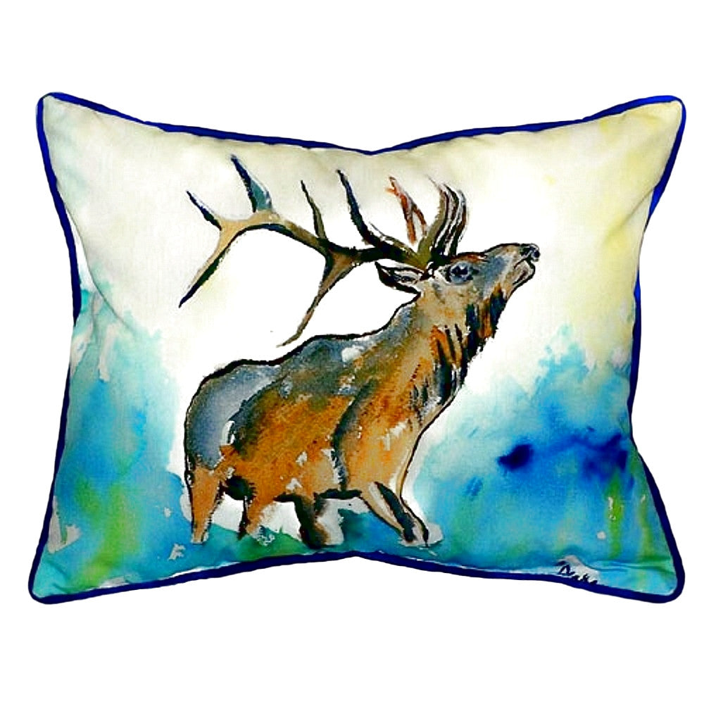 Elk Extra Large Zippered Indoor or Outdoor Pillow 20x24